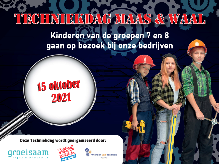 Tweede editie Maas en Waalse techniekdag